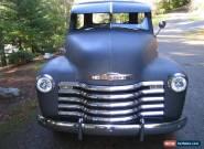 1951 Chevrolet Other Pickups 3100 Standard Cab Pickup 2-Door for Sale