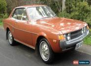 TOYOTA CELICA 1974 LT1600  PILLARLESS COUPE' 82000 original kms with all books for Sale