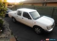 NISSAN NAVARA 2001 DAUL CAB  for Sale