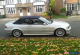 Classic 2006 BMW 330CD convertible  M SPORT SILVER manual. minter. no swap. for Sale