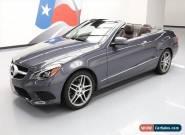 2015 Mercedes-Benz E-Class Base Convertible 2-Door for Sale