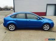 2005 FORD FOCUS LX TDCI BLUE 1.8 DIESEL low miles new clutch full mot for Sale