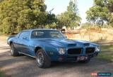 Classic Pontiac Firebird Formula 455 - Ram Air & 4 speed manual  for Sale