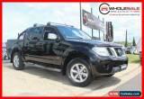 Classic 2011 Nissan Navara st-x 550 v6 turbo diesel Black Automatic A Utility for Sale