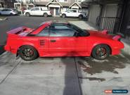 Toyota: MR2 GT T-Top for Sale