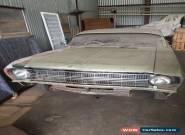 Ford XR 1967 4 door Sedan 289 windsor Front disc brakes for Sale