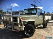 1990 Toyota Landcruiser FJ75R (4x4) Olive Green Manual 5sp M for Sale