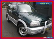2000 Suzuki Grand Vitara (4x4) Green Automatic 4sp A Wagon for Sale