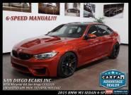 2015 BMW M3 Base Sedan 4-Door for Sale