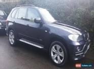 2007 BMW X5 SE 7 Seats 3.0D AUTO BLUE for Sale