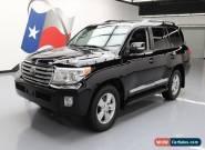 2014 Toyota Land Cruiser Base Sport Utility 4-Door for Sale