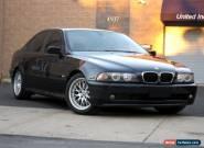 2001 BMW 5-Series Base Sedan 4-Door for Sale
