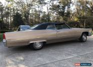 1969 Cadillac DeVille Base Convertible 2-Door for Sale