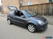 2007 Ford Fiesta Zetec, Manual,105,000 kms, log books, Dealer warranty for Sale