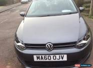 VW Volkswagen Polo 1.2 S 3 Door grey Manual Petrol 2010 LOW MILLAGE for Sale