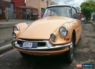 Citroen ID 1960 Right Hand Drive for Sale