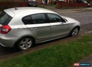 Bmw 1 series 120d spares or repairs still runs and drives  for Sale