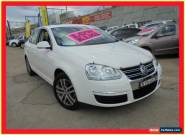 2008 Volkswagen Jetta 1KM MY08 TDI White Automatic A Sedan for Sale
