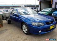 2002 FORD BA FALCON XLS UTE **V8 5.4L** 5 SP MANUAL** GREAT WORK HORSE for Sale