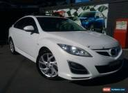 2011 Mazda 6 GH MY11 Luxury Sports White Pearl Automatic 5sp A Hatchback for Sale