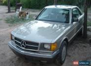 1985 Mercedes-Benz 500-Series base coupe 2-door for Sale