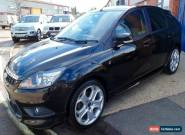 2010 FORD FOCUS ZETEC S 136TDCI S-A BLACK for Sale