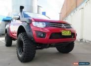2010 Mitsubishi Triton MN MY11 GLX-R Red Manual 5sp M 4D UTILITY for Sale