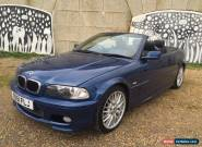 2001 BMW 325 CI Convertible M Sport In Blue With Black Leather *MOT November* for Sale