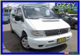 Classic 2003 Mercedes-Benz Vito 108CDI White Manual 5sp M Van for Sale