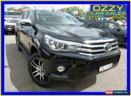 2015 Toyota Hilux GUN126R SR5 (4x4) Black Automatic 6sp A Dual Cab Utility for Sale
