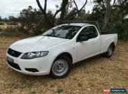 2010 Ford Falcon FG White Automatic 5sp A Utility for Sale