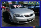 Classic 2007 Holden Calais VE MY08 V International Silver Automatic 5sp A Sedan for Sale