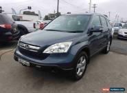 2007 Honda CR-V 2005 Upgrade (4x4) Blue Automatic 5sp A Wagon for Sale