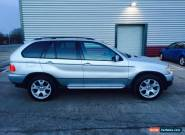 2003 BMW X5 D SPORT AUTO SILVER for Sale
