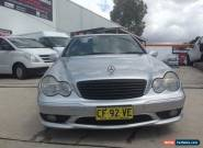 2002 Mercedes-Benz C32 W203 AMG Silver Automatic 5sp A Sedan for Sale