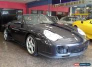 2004 Porsche 911 996 Turbo (4WD) Atlas Grey Metallic Manual 6sp M Coupe for Sale