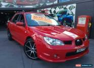 2006 Subaru Impreza MY06 2.0I (AWD) Red Automatic 4sp A Hatchback for Sale