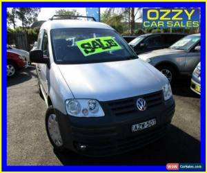 Classic 2006 Volkswagen Caddy 2K Life Silver Manual 5sp M Wagon for Sale