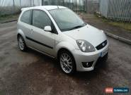 2006 FORD FIESTA ZETEC S SILVER TDCI  for Sale