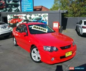 Classic 2003 Ford Falcon BA XR6 Red Manual 5sp M Sedan for Sale