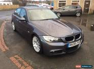 2008 BMW 320D GREY DAMAGED UNRECOREDED SPARES REPAIRS for Sale