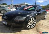 Classic 2001 Audi TT MY99 TT Black Cayenne Manual 5sp M Coupe for Sale