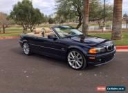 2002 BMW 3-Series Base Convertible 2-Door for Sale