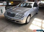 2003 Mercedes Benz E240 for Sale