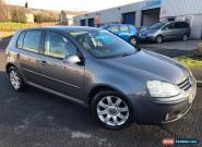 Volkswagen Golf 2.0TDI  GT DIESEL 5 Door 2006 55 Reg for Sale