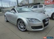 2007 Audi TT 8J 3.2 Quattro Silver Automatic 6sp A Roadster for Sale