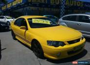 2004 Ford Falcon BA MkII XR6T Yellow Automatic 4sp A Sedan for Sale
