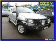 2012 Ford Ranger PX Wildtrak 3.2 (4x4) Silver Manual 6sp M Crew Cab Utility for Sale