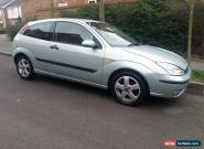 Ford Focus 1.8, SPARES OR REPAIR for Sale