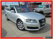 2009 Audi A3 8P MY10 TFSI Attraction Silver 7 Sports Automatic Dual Clutch for Sale